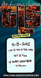 Live at The High Tone Cafe 5-8-2012